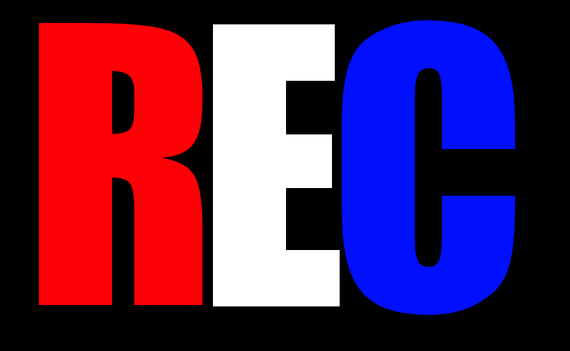 Simple REC Logo Design by EdGPatterson