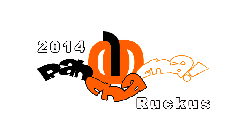 2014 Rah Cha Cha Ruckus front t-shirt design by EdGPatterson