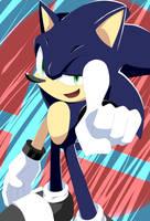 Black Sonic SSB4 by KajikiMaguro427