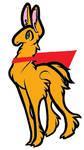 Super Golden Llama by XxxpegasisterxxX