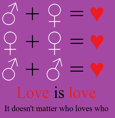 Love is love by KidvsKatAdmirer2