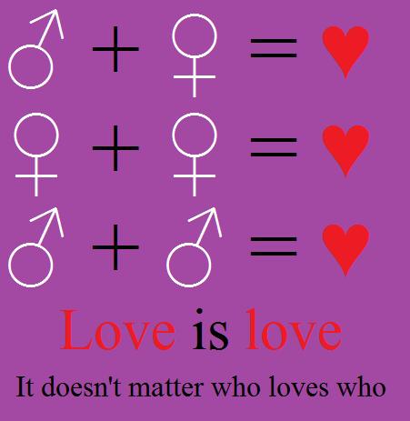 Love is love by KidvsKatAdmirer2