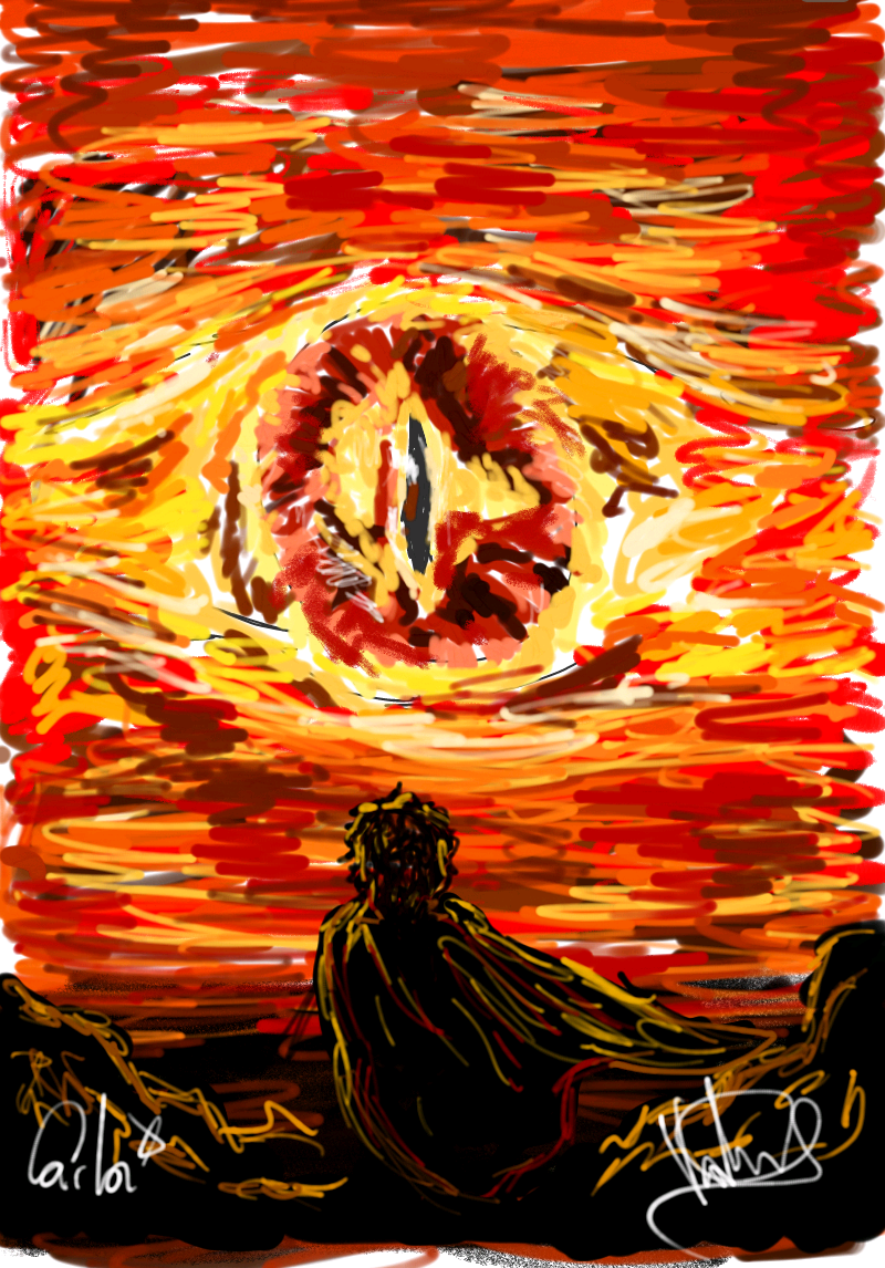 Eye Of Sauron By Michumichuu On Deviantart