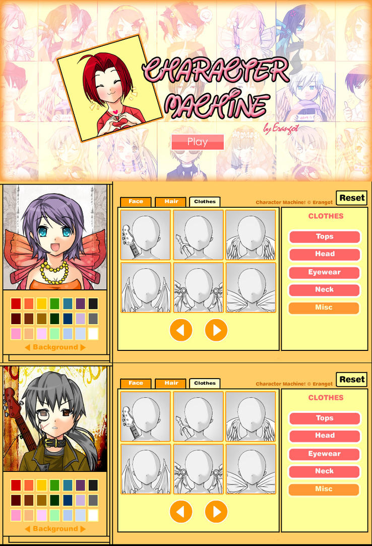 Character Machine v1.0 by Erangot