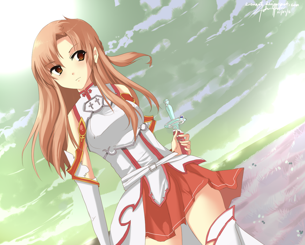 Asuna by Erangot