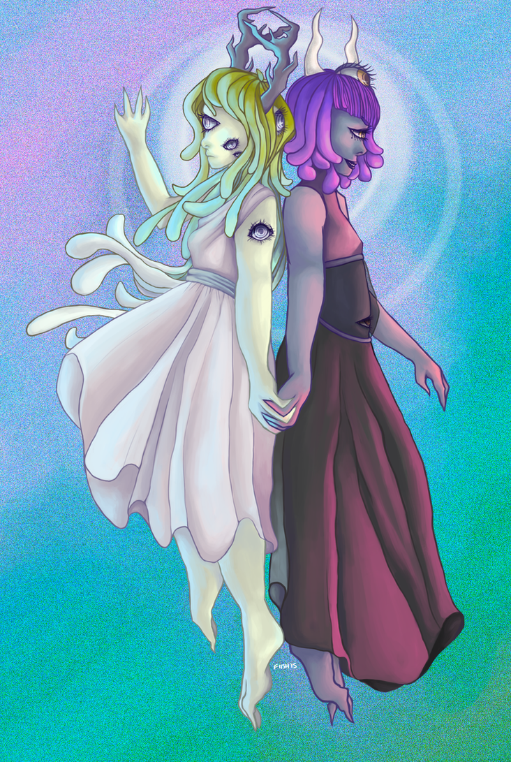 .made for each other. by voltafiish