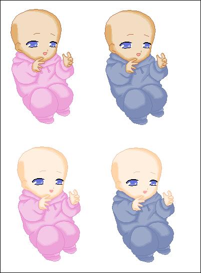 Image Gallery newborn anime baby twins