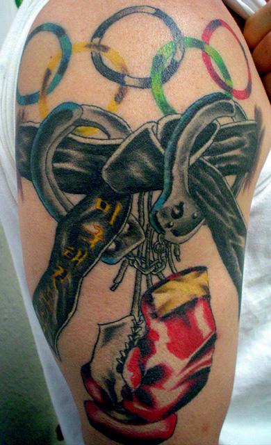 Achievement half sleeve - sleeve tattoo