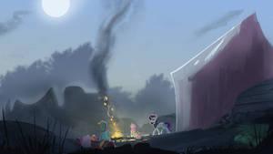 Gone Camping by Hierozaki