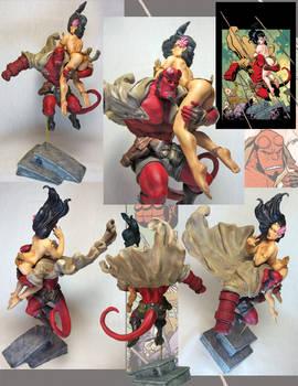Hellboy Frank Cho color