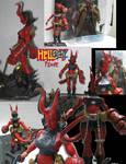 Hellgirl figure
