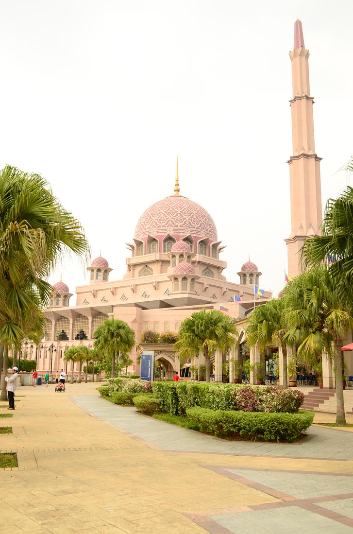 Putrajaya Mosque by act92