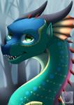 Wings of fire fanart - Glory by FroxiFox