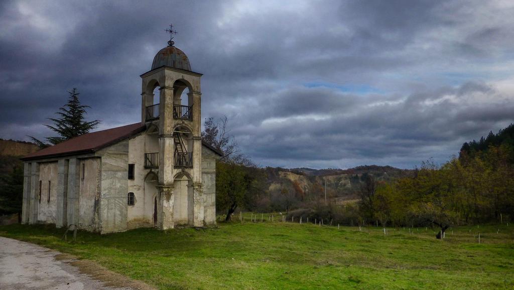 abandoned church by burnchild