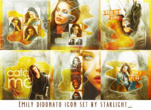 Emily Didonato Icon Set by elloooise