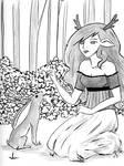 Deer Lady and Jackalope