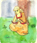 Nadine Watercolor Test