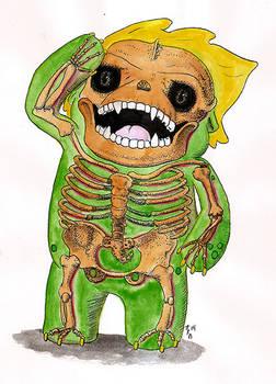 Gronk skeleton