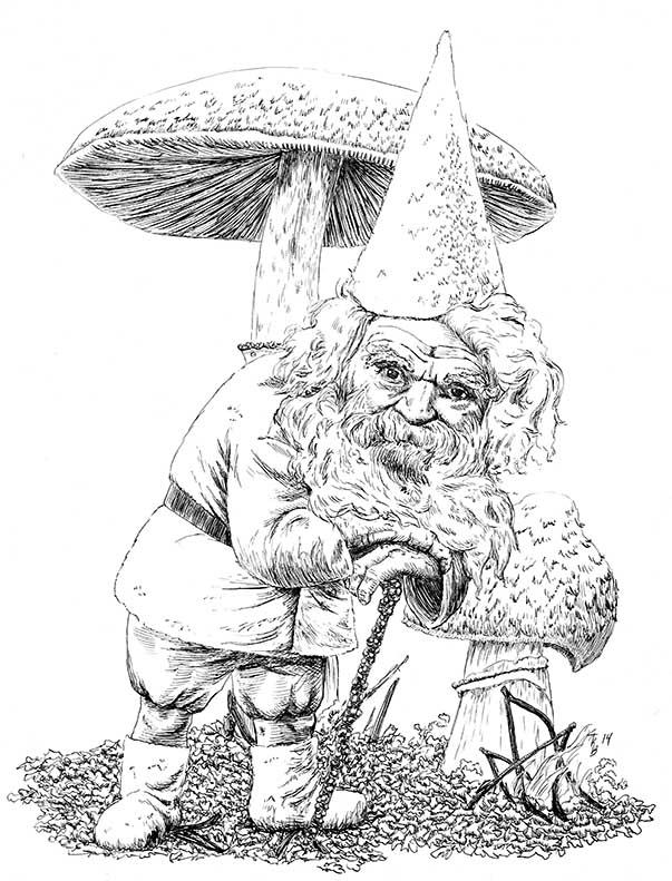 Gnome by lunavalse