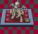 Dragonite Skeleton Tiles by Godofthesky