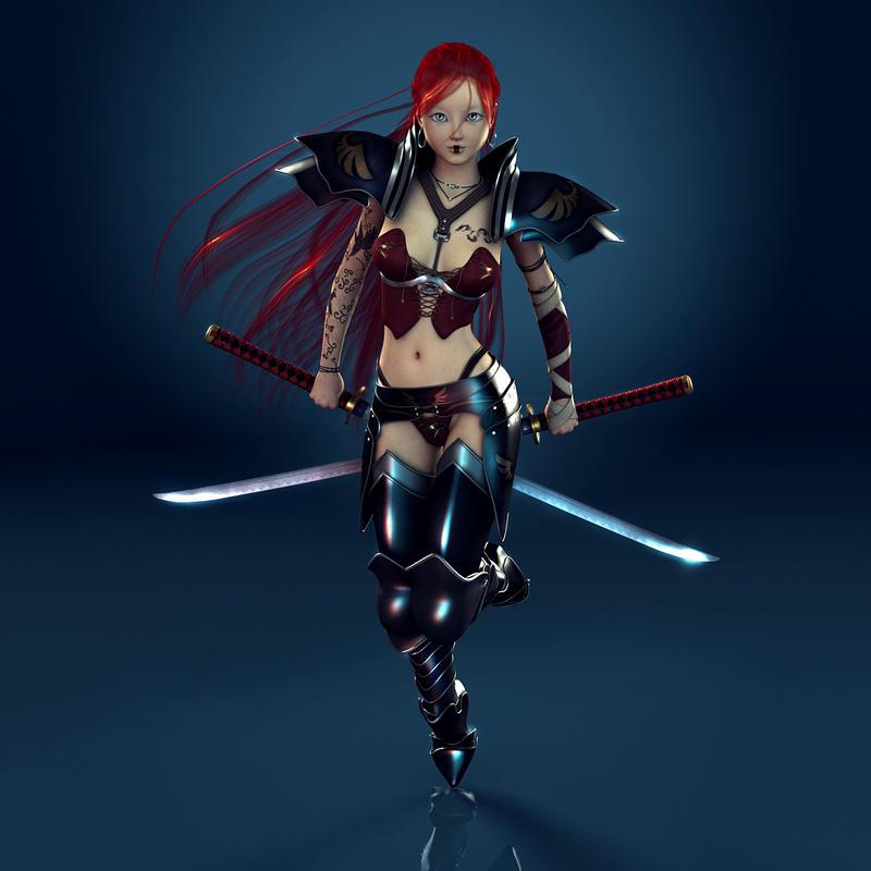 FEZ Warrior by IamUman