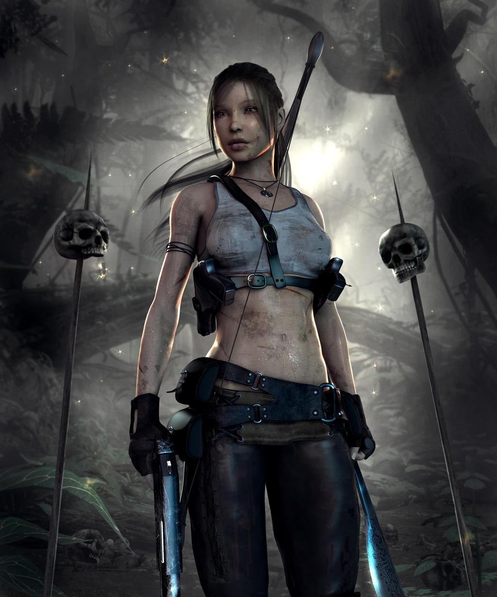 Lara Croft Reborn by IamUman