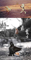 Only Darth Vader can handle a chick.. (_) by ZahirBatin