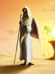 Cygna, the Prophet by JackHCrow