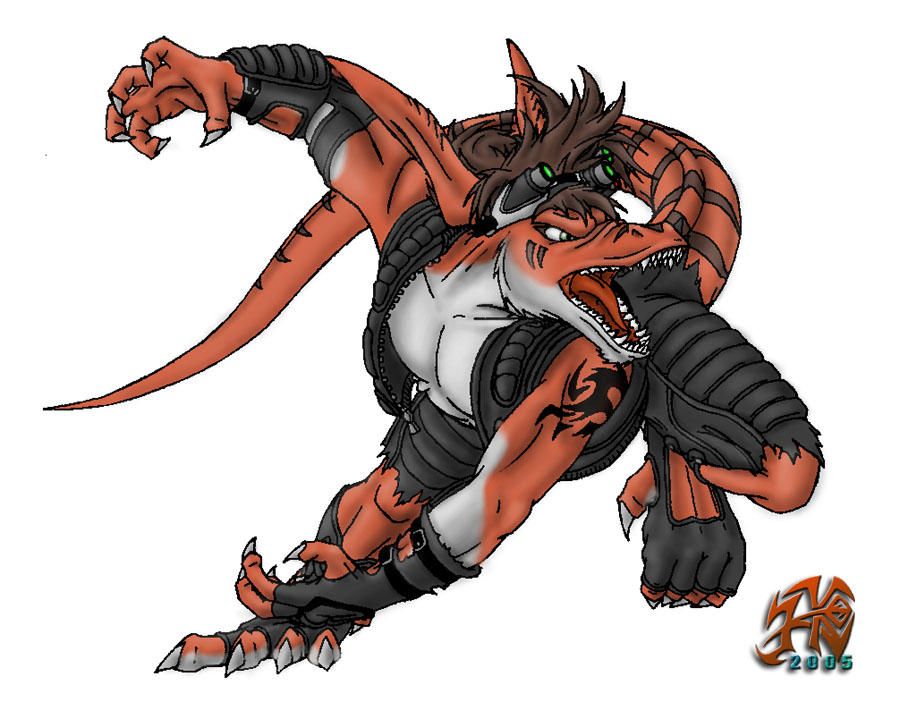 Agressive Raptor-Predator by JackHCrow