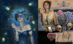 girl-Faun. before-after.