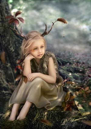 Little Forest Spirit by veravik