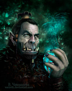 Ragongar. Guardian of the Amulet
