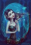Mermaid. Dark side.