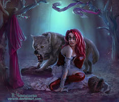 Little Red Riding Hood.  is another version by veravik