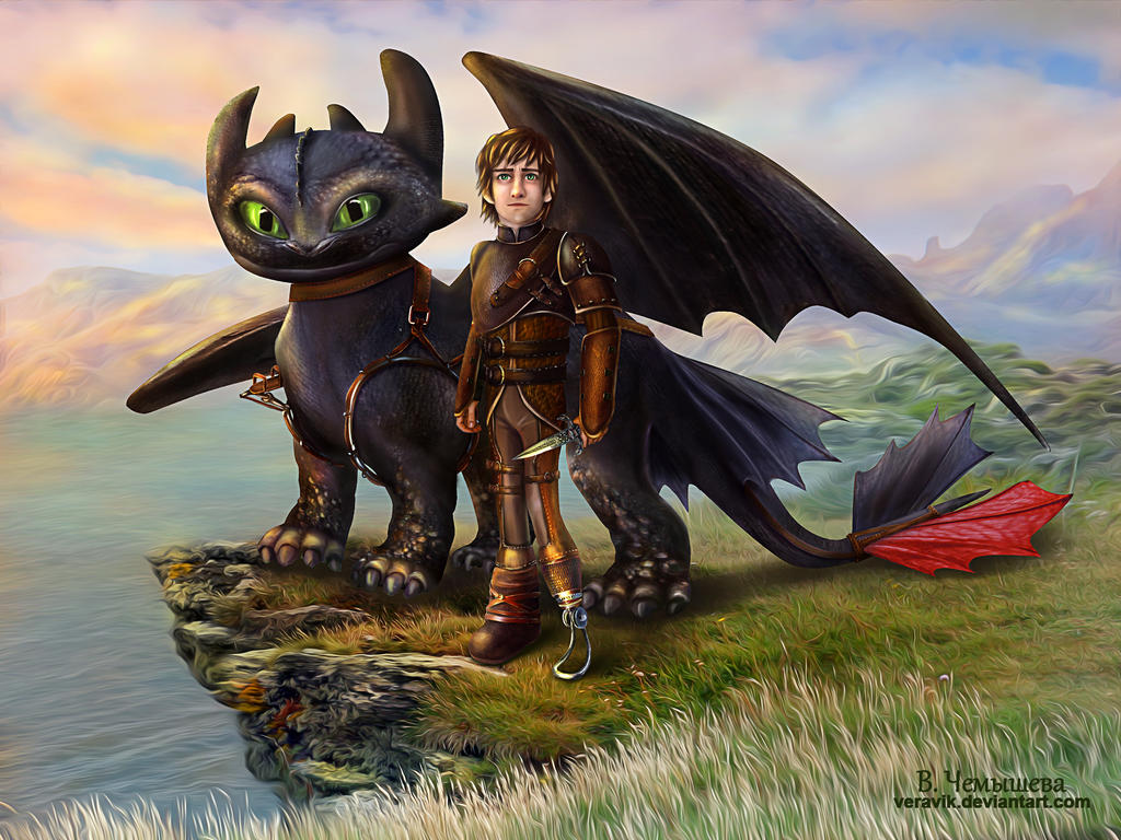 Fan Art. How to Train Your Dragon.