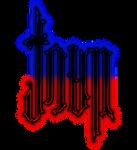 John/Dave ambigram