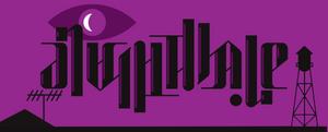 ''Night Vale'' rotational ambigram.