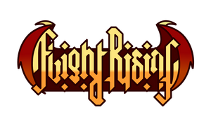 Flight Rising Rotational Ambigram