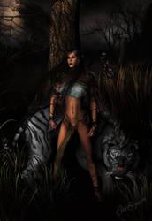 Elf's pet by arca-jeths