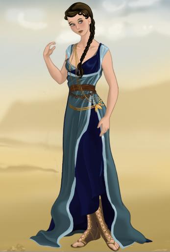 Artemis, Goddess of the Hunt by ZeldaQueen64