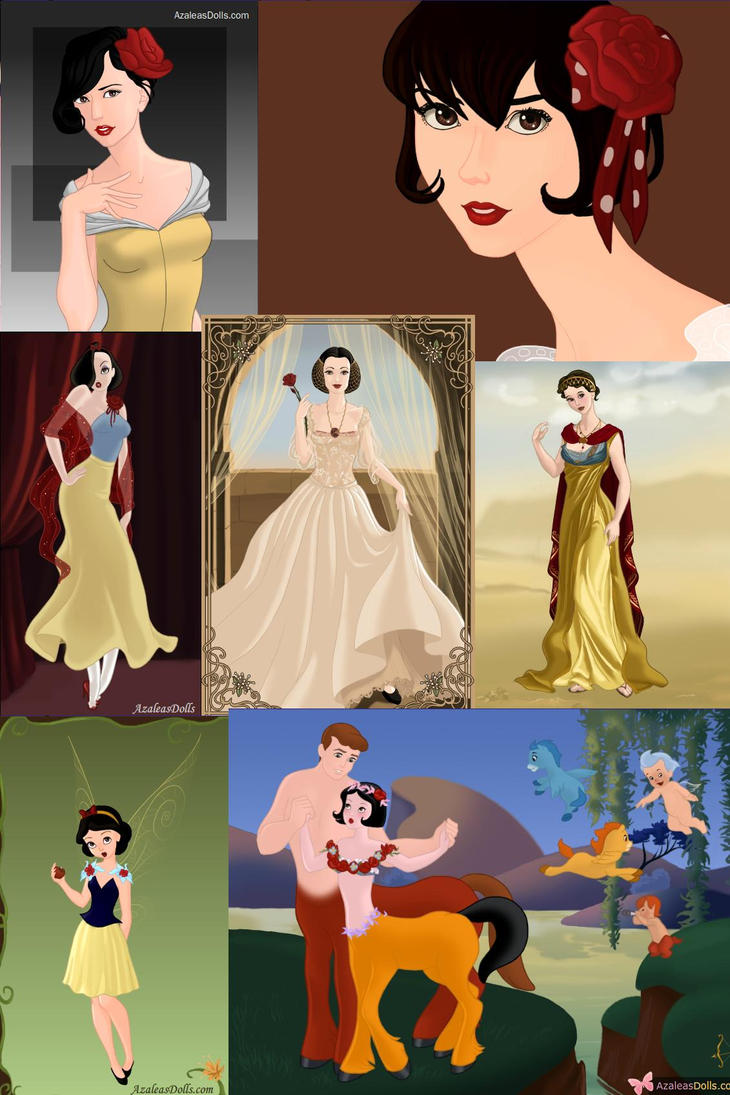 The Many Faces of Snow White by ZeldaQueen64