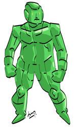 (Commission) Meta Man.