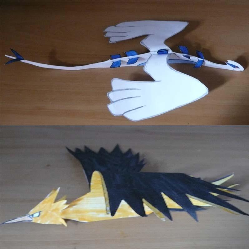 +Papercraft Pokemon 2+ by Diamondsnake