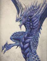 Shadow Dragon by Hybrid-Dragoness