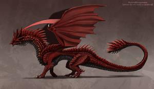 | Grualonan | Elder Primordial Dragon by Hybrid-Dragoness