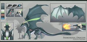 Fidelia - Primordial Dragon Reference Sheet | 2020