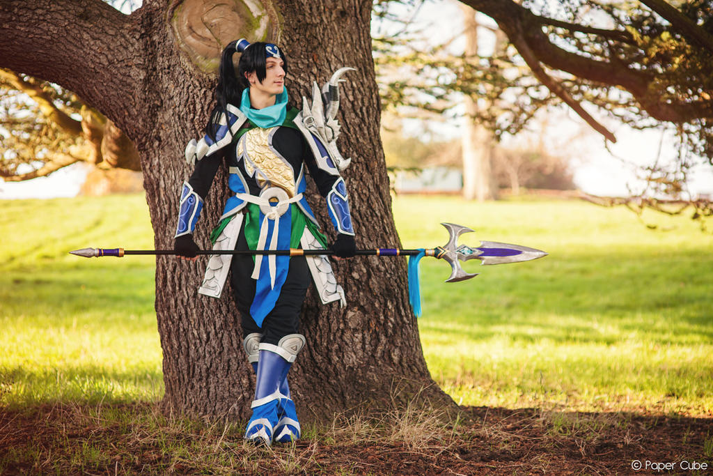 Warring Kingdoms Xin Zhao from League of Legends by paper ...