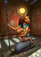 Hathor by waldanga