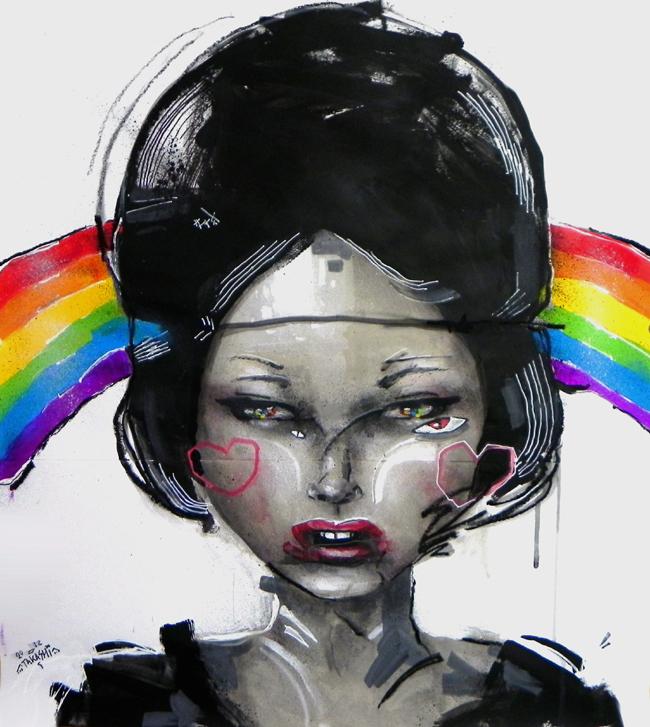 under the rainbow by takashixjapan