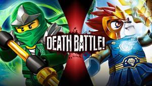 Lloyd VS Laval (Ninjago VS Legends of Chima)